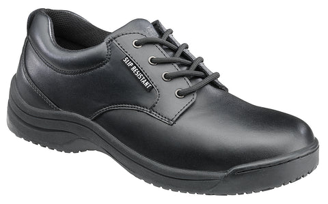 Women's Leather Slip Resistant Oxford