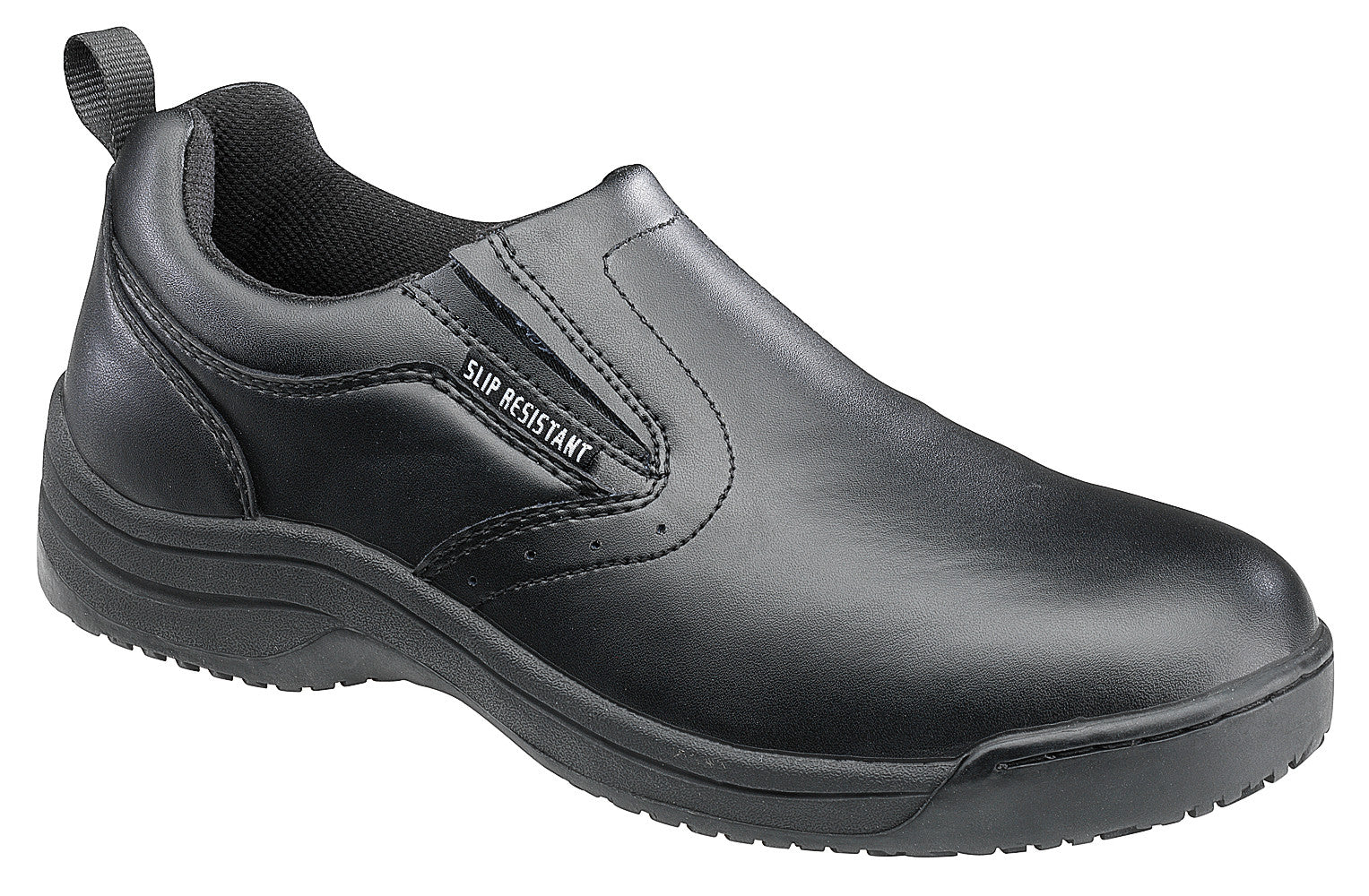 Women's Action Leather Slip Resistant Slip On