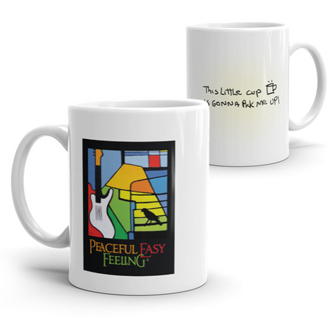 Peaceful Easy Feeling Tea Mugs