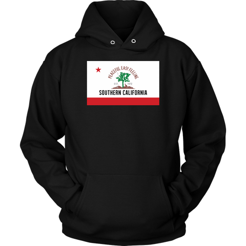 Peaceful Easy Feeling Flag Hoodie