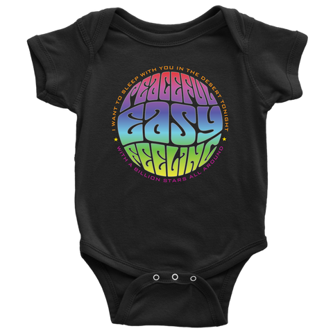 Peaceful Easy Feeling Fillmore Baby Onesie