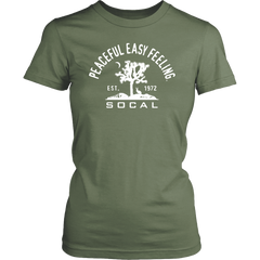 Peaceful Easy Feeling Cactus Womens Shirt