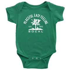 Peaceful Easy Feeling Cactus Baby Onesie