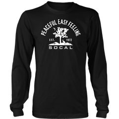 Peaceful Easy Feeling Cactus Long Sleeve Shirt
