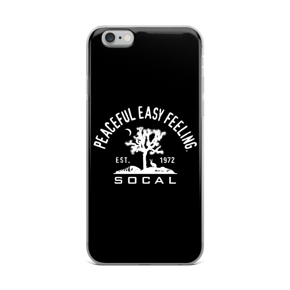 Peaceful Easy Feeling Cactus iPhone Case