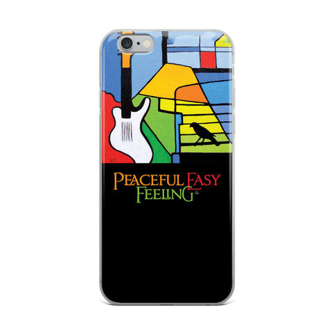 Peaceful Easy Feeling Painting iPhone Case