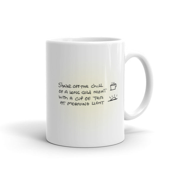 Morning Light - Peaceful Easy Feeling Tea Mug