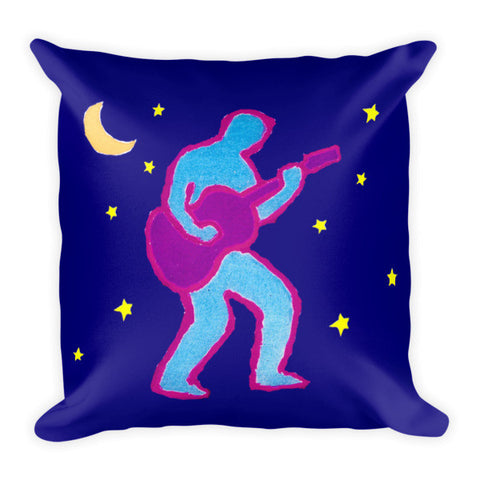 Guitar Man Pillow