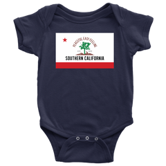 Peaceful Easy Feeling Flag Baby Onesie