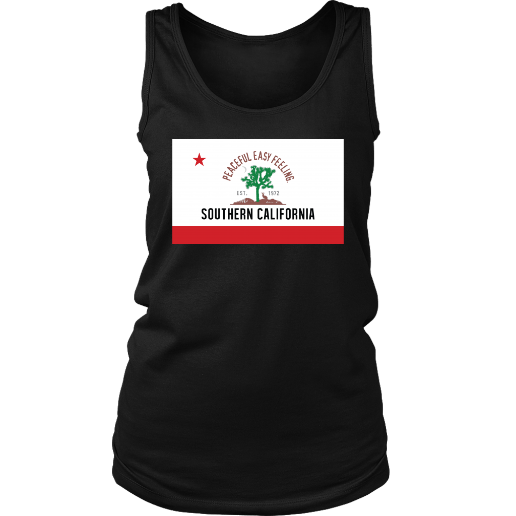 Peaceful Easy Feeling Flag Womens Tank