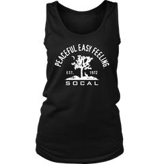 Peaceful Easy Feeling Cactus Womens Tank