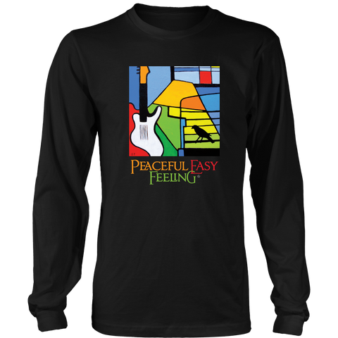 Peaceful Easy Feeling Logo Long Sleeve Shirt