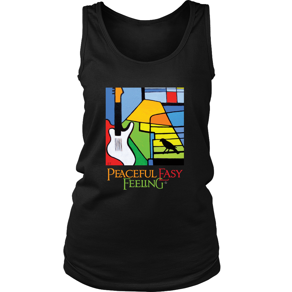 Peaceful Easy Feeling Logo Womens Tank