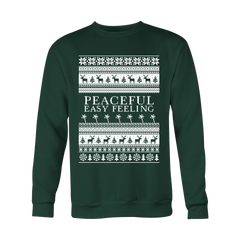 Peaceful Easy Feeling Christmas Sweatshirt