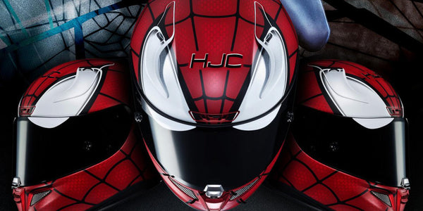 HJC + MARVEL = Cool helmets