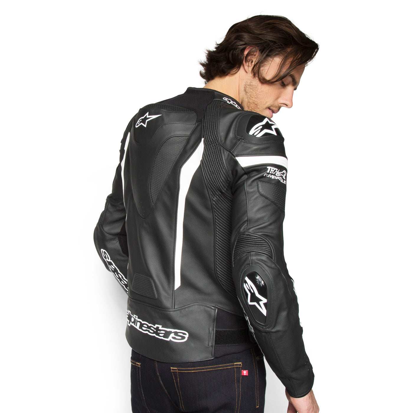 Alpinestars Leather Jacket >> Alpinestars Missile Air Tech Air Jacket