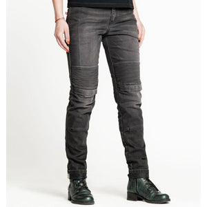PANDO MOTO ROSIE DEVIL PLAIN Riding Jeans