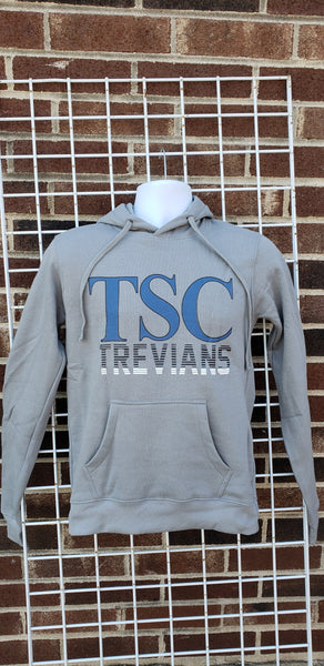 TSC Hooded Sweatshirt (Cool Grey)