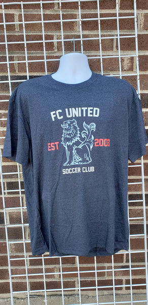 FCU Tshirt (Heather Navy)