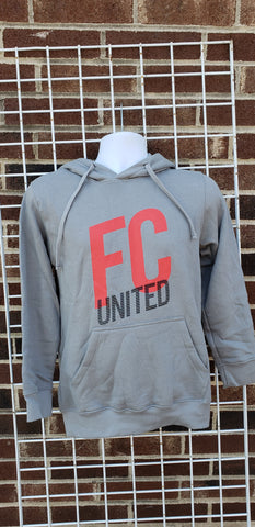 FCU Hooded Sweatshirt (Cool Grey)
