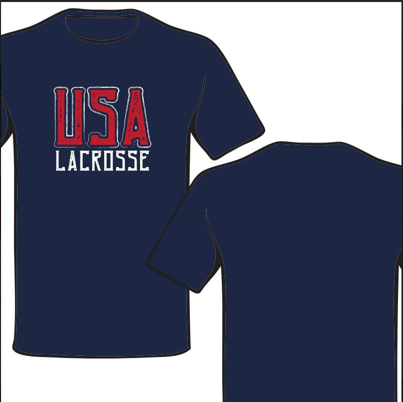 Navy USA (Distressed)