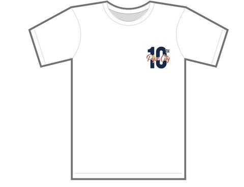 Pipe City 10th Anniversary Small Logo Front