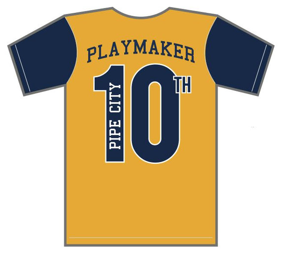Pipe City 10th Anniversary Playmaker Shirt (Name Badge)