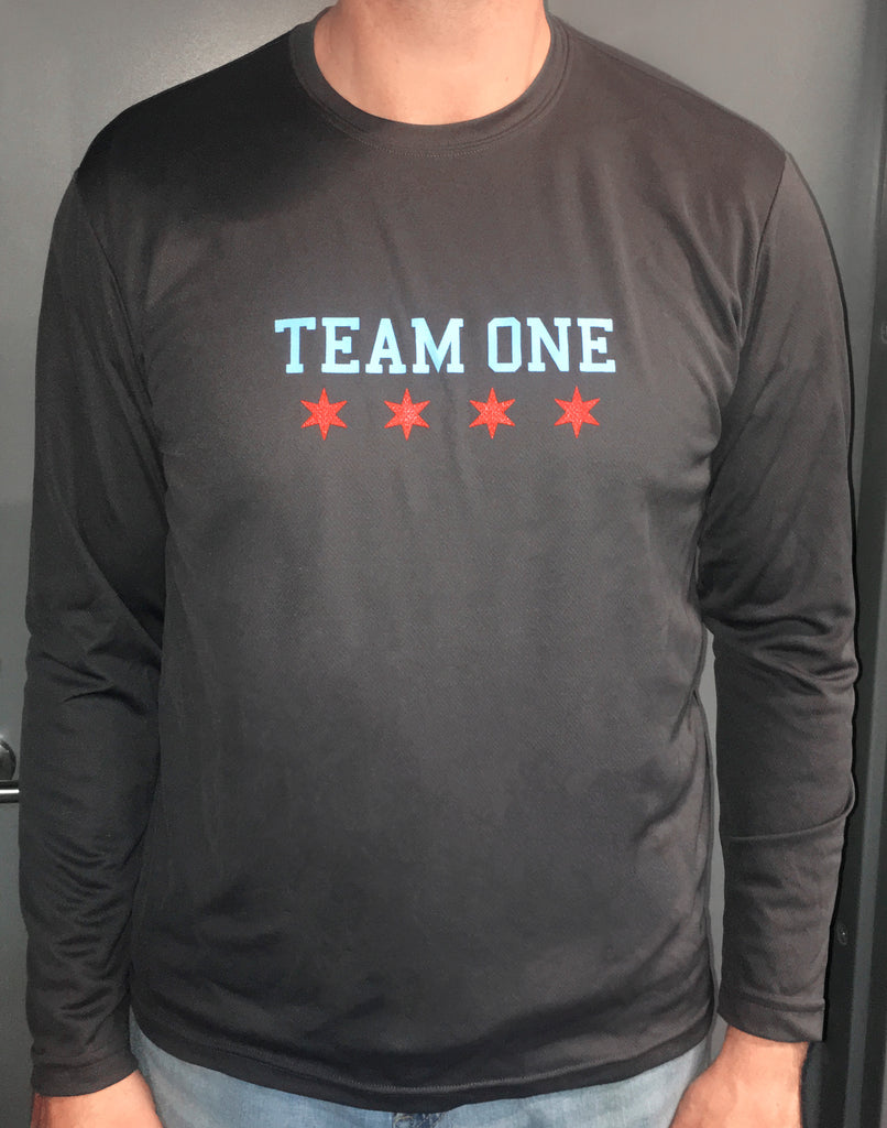 Team ONE Grey Shooter Shirt
