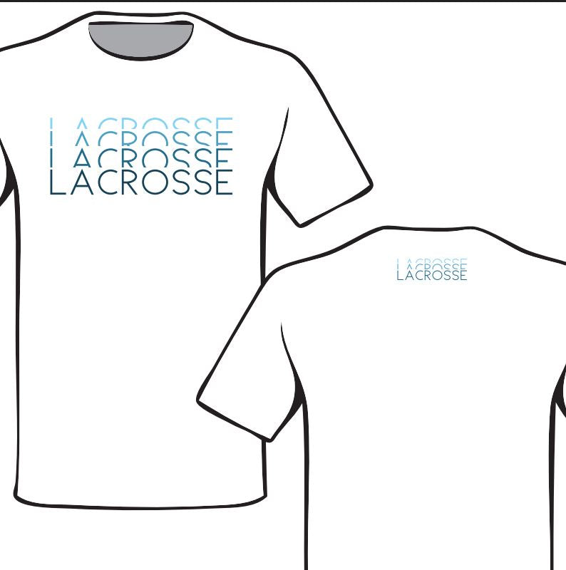 White Lacrosse Four Color