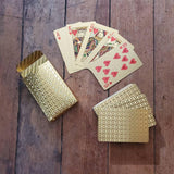 Waterproof Golden Playing Cards