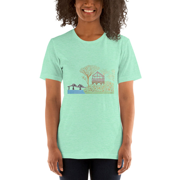 """Beach House"" Unisex T-Shirt [15 COLORS]"
