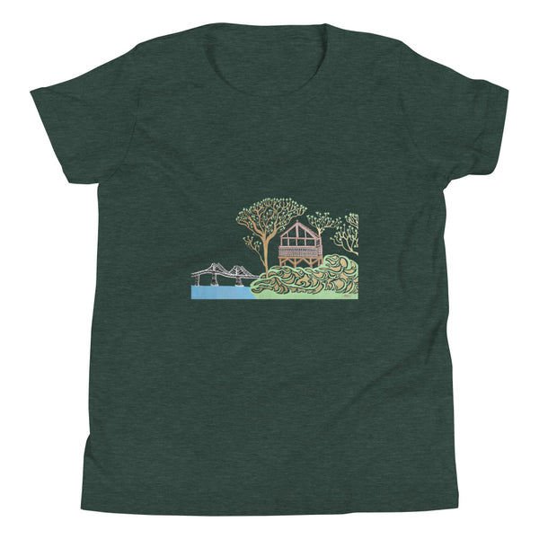 """Beach House"" Youth Unisex T-Shirt [10 COLORS]"