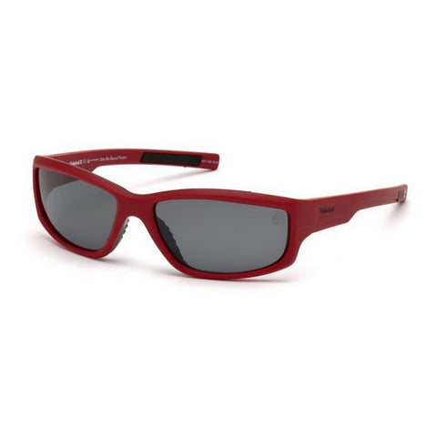 Unisex Sunglasses Timberland TB9154-6267D Red (62 Mm)
