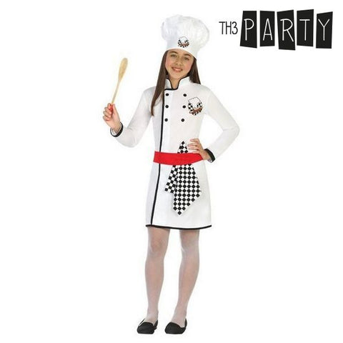 Costume for Children Female chef (4 Pcs)