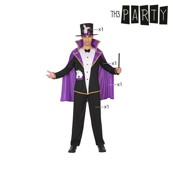 Costume for Adults Wizard (4 Pcs)