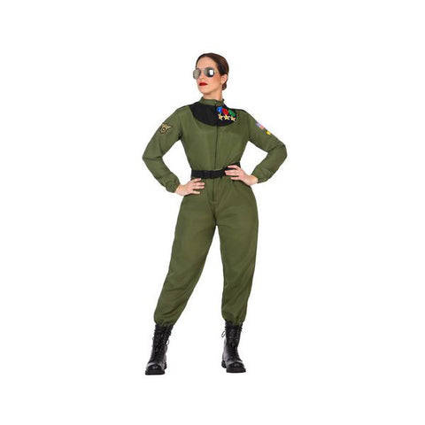 Costume for Adults Camouflage (2 Pcs)