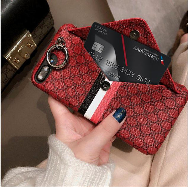 Queen Bee Wallet iPhone Case