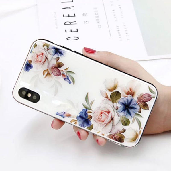 Fancy Roses iPhone Case