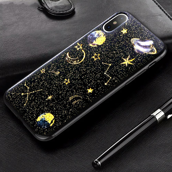 Space X Planets iPhone Case
