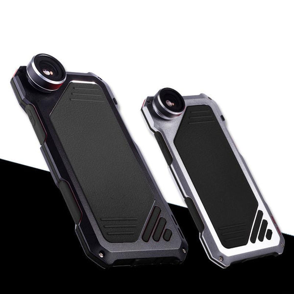 Mechanical Phone Case with Fish Eye Lens