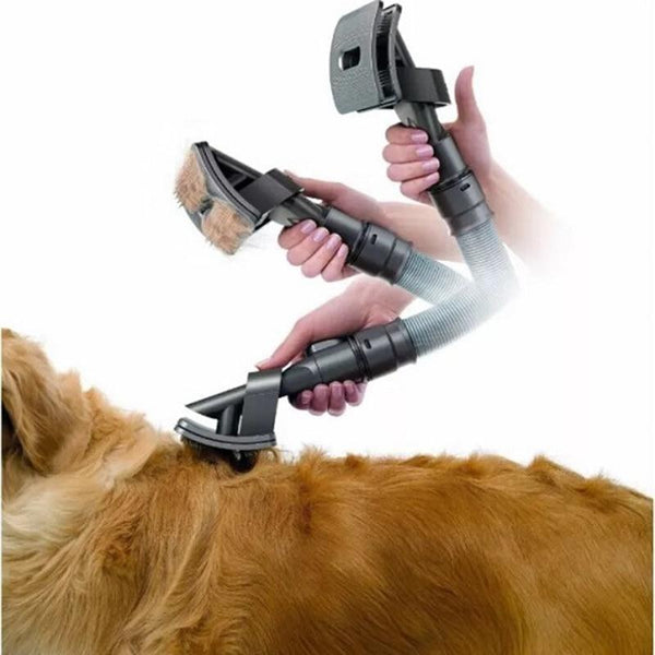 Pet Grooming Brush for Any Vacuum Machine