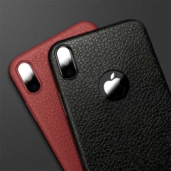 Ultra Thin Leather Skin For iPhone
