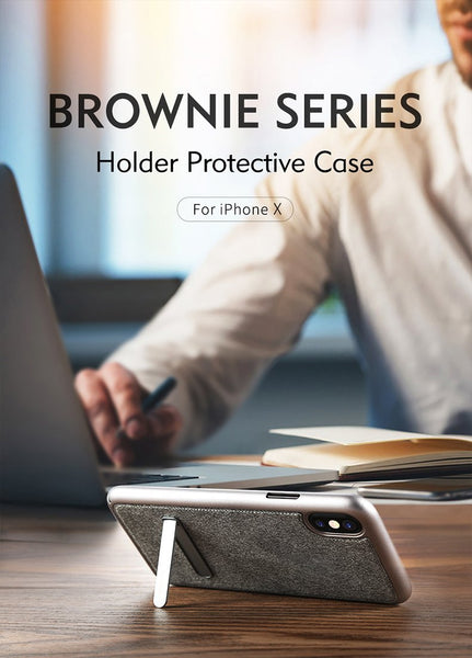 Resilient Protective Case with Kickstand
