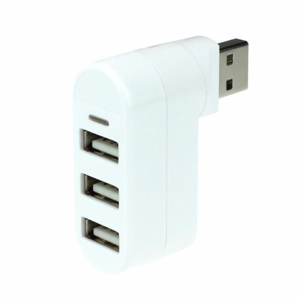 3 Ports 2.0 Mini Rotate USB Hub