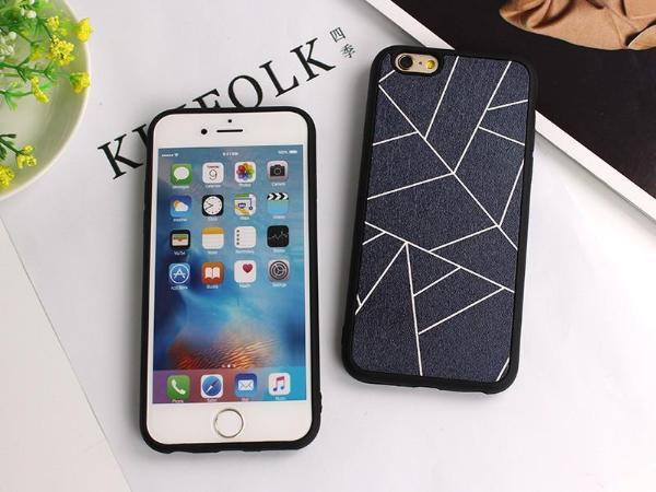 Geometric Frame iPhone Case