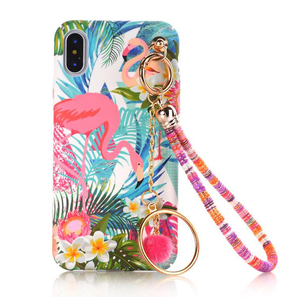 Floral Bead iPhone Case
