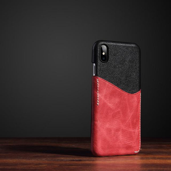 Two-Toned Wallet Slot iPhone Case