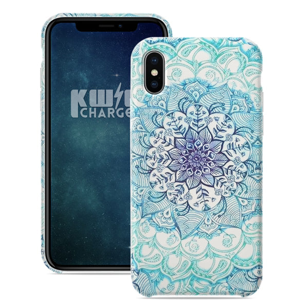 Luminous Mandala iPhone Case