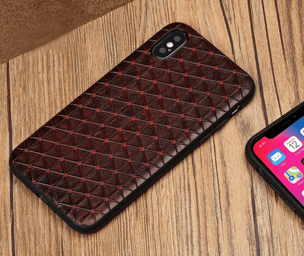 Authentic Leather iPhone Case