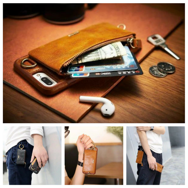 Zipper Wallet Phone Case